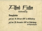 030 Hutter Alfred-