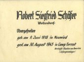 087 Schaefer Robert Siegfried